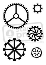 A7 'Cog Wheel' Unmounted Rubber Stamp (SP00006030)
