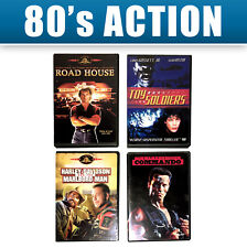4 DVD Toy Soldiers Commando Road House Harley Davidson Marlboro Movie OOP MMA Lo
