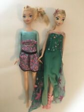 Lot of 2 Disney Princess Doll Elsa Frozen 1 & 2