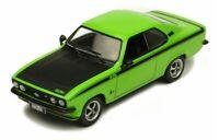 IXO CLC332 OPEL MANTA A GT/E diecast model car dark green / black 1974 1:43rd
