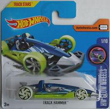Hot Wheels-track Hammer blaumet./verde nuevo/en el embalaje original