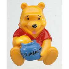 Winnie the Pooh with Honey Pot - Bullyland: vinyl miniature toy animal figure