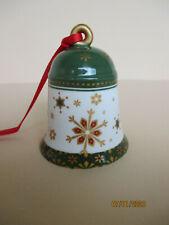 Villery & Boch My Christmas Tree Weihnachtsglocke mit Sternen grün