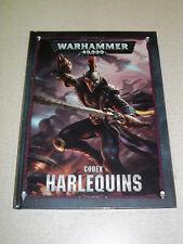 Warhammer 40K HARLEQUINS CODEX!! 8th Edition Brand New HC!!