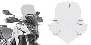 Givi D1171S WINDSCREEN Honda CB 500 X 2020 CB500XA SCREEN 30 mm Taller Smoked