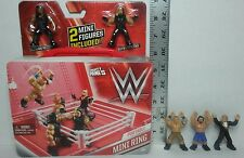 WWE Mighty Minis Portable Ring Playset New 3 Blind Pack Figures Roman Reigns