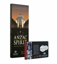 2018 Anzac Spirit Coin Collection Folder - New + United 50c Coin - Sealed R.A.M.