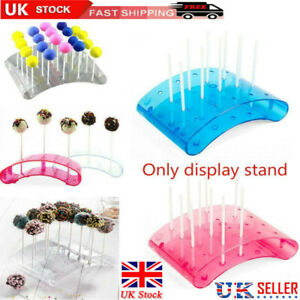 UK Cake Pop Lollipop Stands 20 Hole U Shaped Holder DIY Bakeware Display Stand💖