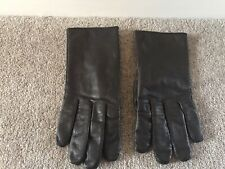 Womens Leather Brown Gloves Large - Brand New