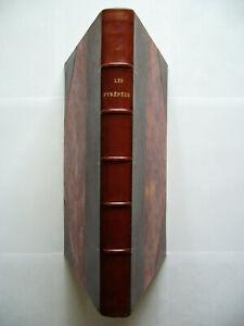 Bondidier LES PYRÉNÉES, Alpinisme, Pays basque, Ed.O., Relié, Num. Ex. Alfa 1933