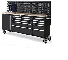 """Neilsen 84"""" YES 7 FEET LONG Toolbox Tool Chest On Wheels Credit Available CT4125"""
