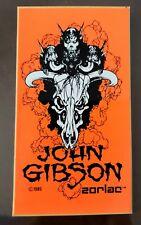 Zorlac John Gibson Skateboard Vintage Sticker Phillips Santa Cruz pushead