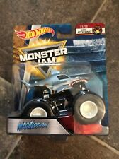 Hot Wheels Monster Jam CRUSHSTATION Truck 30th Anniversary 1st Ed 2012 Topps