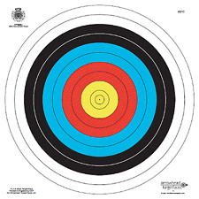 "ARCHERY TARGETS 40cm REINFORCED PAPAER ""SECONDS"" PACK OF 10"