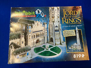 Wrebbit 3D Lord Of The Rings Puzzle Citadel of Minas Tirith