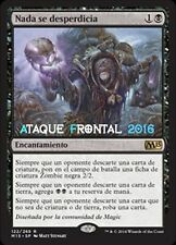 MTG NADA SE DESPERDICIA - Waste Not - MAGIC 2015 ESPAÑOL