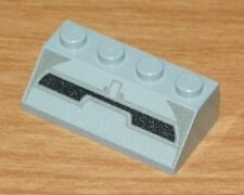 LEGO 7151 - Slope with Dark Gray and Black Lines Pattern (Sith Infiltrator)