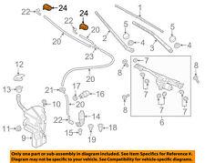 AUDI OEM 15-18 Q3 Quattro Wiper Washer-Windshield-Heated Nozzle Right 8U0955988A