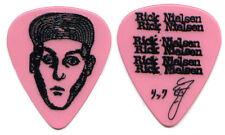 Cheap Trick Guitar Pick : 2015 Tour Rick Nielsen pink picks logo face hat