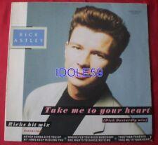 Disques vinyles maxi rick astley