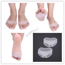 Silicone Half Toe Sleeve Metatarsal Cushion -Ball of Foot Pads-Bunion & Forefoot