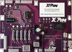 XPin XP-WMS8345 Power Supply Board Williams 3-11/Data East Pinball/Shuffle Games