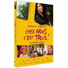 """DVD """"CHEZ NOUS, C'EST TROIS"""" Marie KREMER / Claude DUTY NEUF SOUS BLISTER"""
