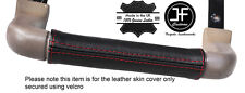 RED STITCH DASH GRAB HANDLE LEATHER COVER FITS LAND ROVER DISCOVERY 1 89-93