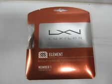 **NEW**  LOT OF 2 SETS LUXILON ELEMENT 16L (1.25) BRONZE CO-POLY TENNIS STRING