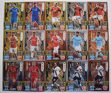 MATCH ATTAX 2015/16 EPL LIMITED EDITION LE1-6 CARDS - MULTI-BUY DISCOUNT