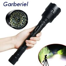 Garberiel 80000 Lumen CREE LED XML 14x T6 Tactical Flashlight Torch Super Bright