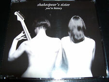 Shakespear's Shakespears Sister / Siobhan Fahey You're History Rare CD Single