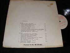 Import Sampler #2 LP Prog Birth Control JANE Gene Clark JACK THE LAD Eela Craig