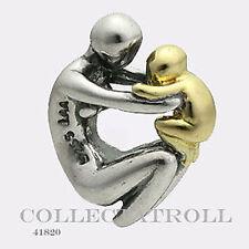 Authentic TrollBeads Silver & 18kt Gold Maternity Trollbead  TAGBE-00083