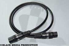 DMX XLR Kabel Binary 234 3 Pol 1 m HiCon nach DIN 110 Ohm *NEU*