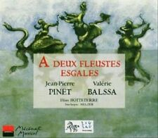 DEUX FLEUSTES ESGALES USED - VERY GOOD CD