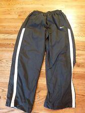 Men's Nike Black with White Stripe Athletic Pants, Size Extra Large - XL