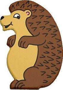 Hedgehog Rabbit Stickabout Wooden Wall Sticker Room Decoration
