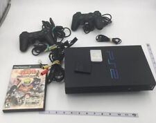 Sony PlayStation 2 PS2 Console Bundle w/2 Controllers 2 Memory Card Game