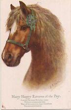 FLORENCE VALTER HORSE ART.   + VERSE  INTER ART SERIES