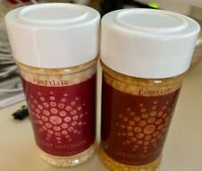 Lot of 2 Partylite Scented Infusion Beads Pink Citrus and Cinnamon Sticks New