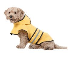 Fashion Pet Yellow Dog Raincoat Medium 14 To 19 Inches, Beagle Jack Russell Pug
