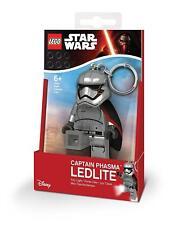 Lego Star Wars Capitán Phasma keylight-chain Linterna LED NUEVO 7.6cm ledlite