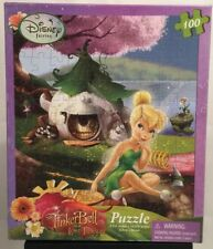 DISNEY FAIRIES 100 Pcs Tinker Bell Lost Treasure Puzzle Hard To Find NEW