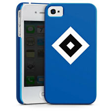 Apple iPhone 4 Premium Case Cover - HSV Blau