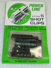 Vintage Daisy 9917 extra 5 shot clips for model 917 Power LIne pellet rifle NOS