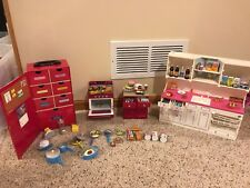 Barbie Tyco Kitchen Littles Stove, Island, Pantry & Deluxe Kitchen Center