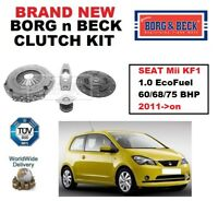 BORG and BECK CLUTCH KIT for SEAT Mii KF1 1.0 EcoFuel 60/68/75 BHP 2011->on