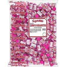 Swizzels Mini Love Heart Rolls 3kg Bulk Bag - Bulk Sweets