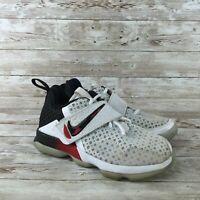 Nike Lebron 14 Youth Size 12.5C White Athletic Training Basketball Shoes